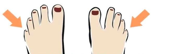 dedo pequeño pegado