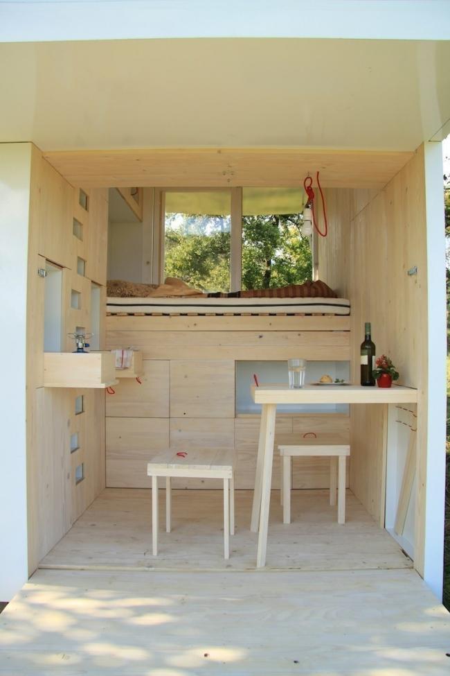 casa que desafía todas las concepciones de diseño en espacios pequeños - interior