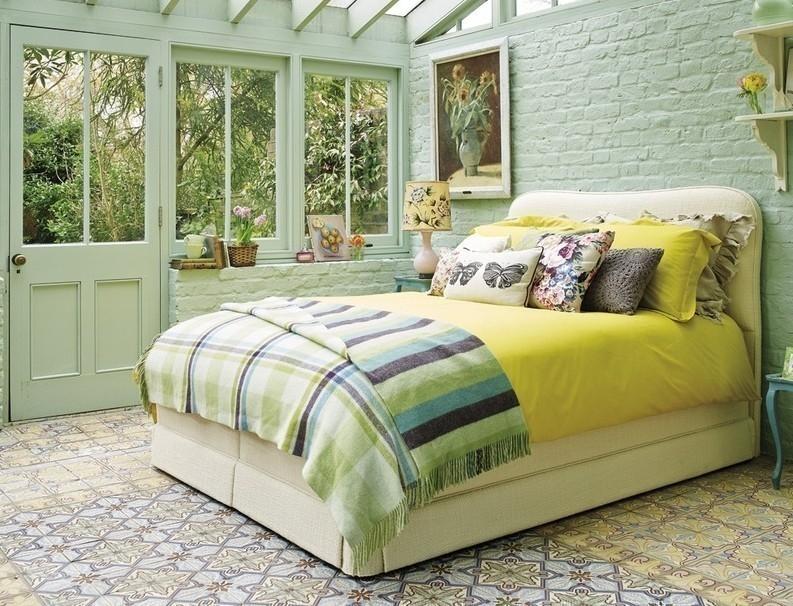Cómo decorar con estilo tropical- cuarto