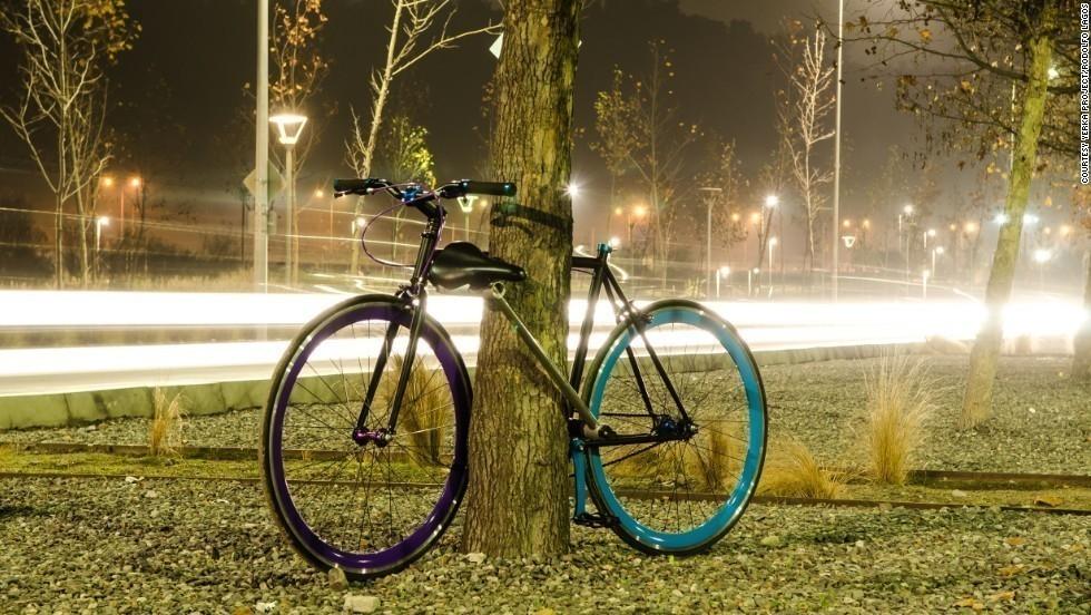 bicicleta candado