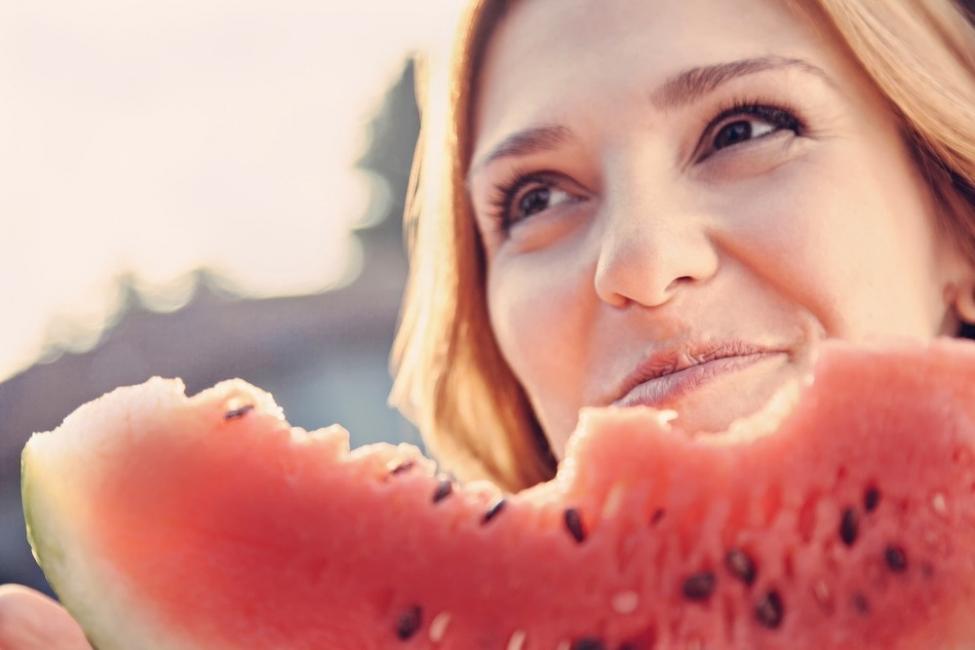 frutas para desintoxicar el cuerpo - sandías
