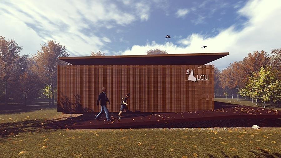 La mejor vivienda sostenible  - Solar Decathlon-  prototipo lateral