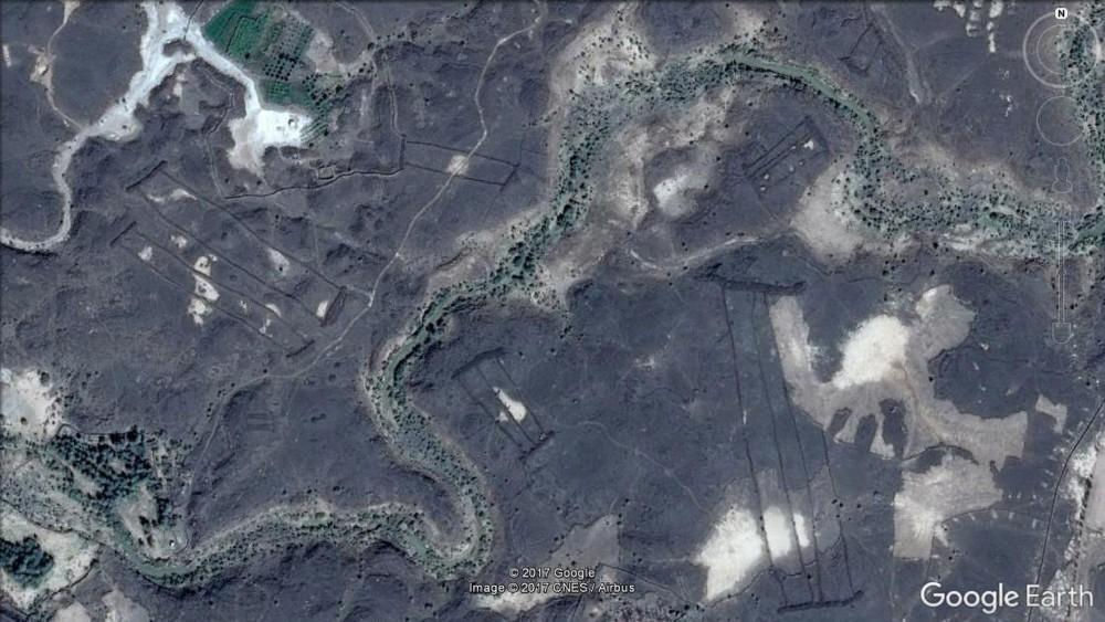 Harrat Khaybar es un campo volcánico ubicado al norte de Medina en Arabia Saudita