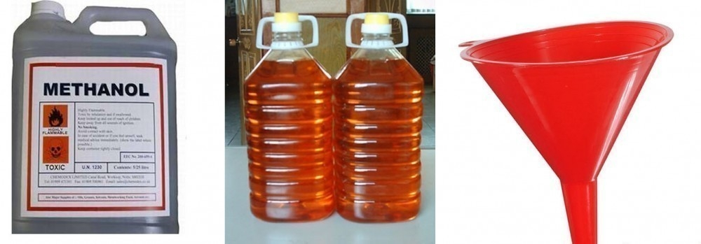 biodiesel - materiales