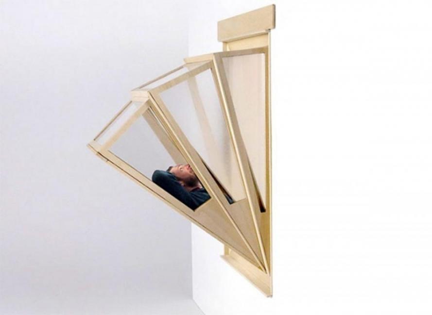 Ventana-balcón extensible para apartamentos pequeños