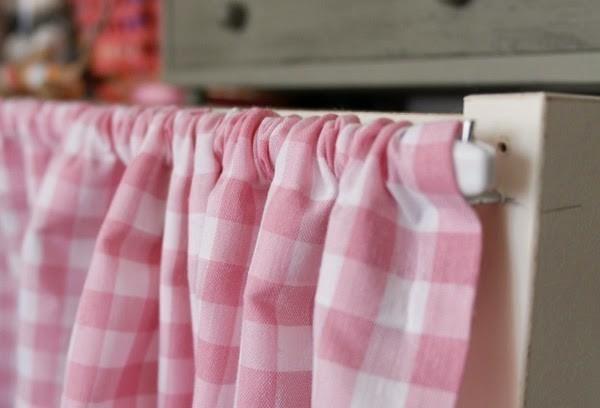 cortinas sin coser - cómo pasar la varilla