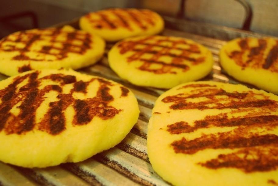 Pancitos de maíz, patata y calabaza sin gluten - paso 3