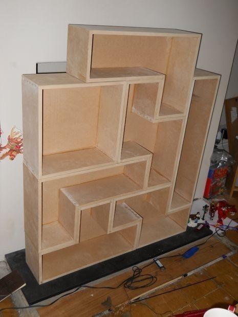 pintar estantería tetris