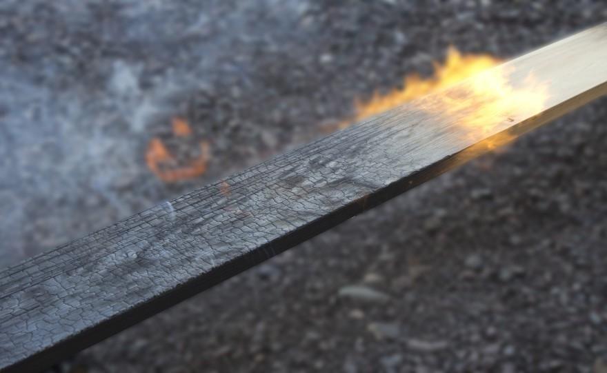 Técnica japonesa para conservar la madera- diy