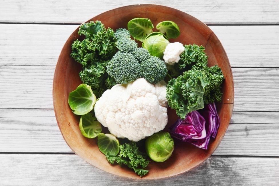 alimentos sanos para el hígado, coles