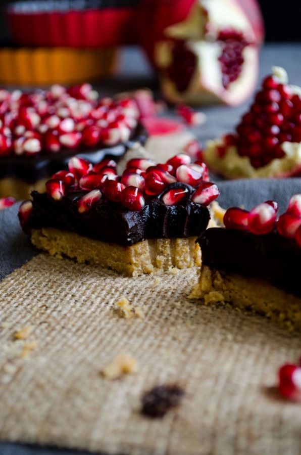 No-Bake-Chocolate-Pomegranate-Tart-5
