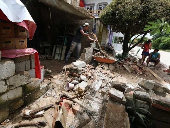 Sismo ocurrido en Chiapas