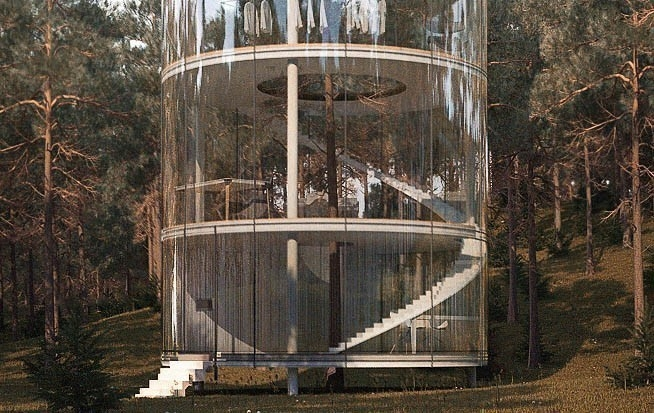 casa del árbol- diseño de lujo
