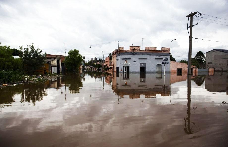 Deforestación e inundaciones- Concordia inundación