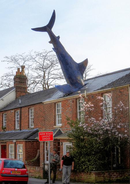 4. El Headington Shark, Oxford, Reino Unido
