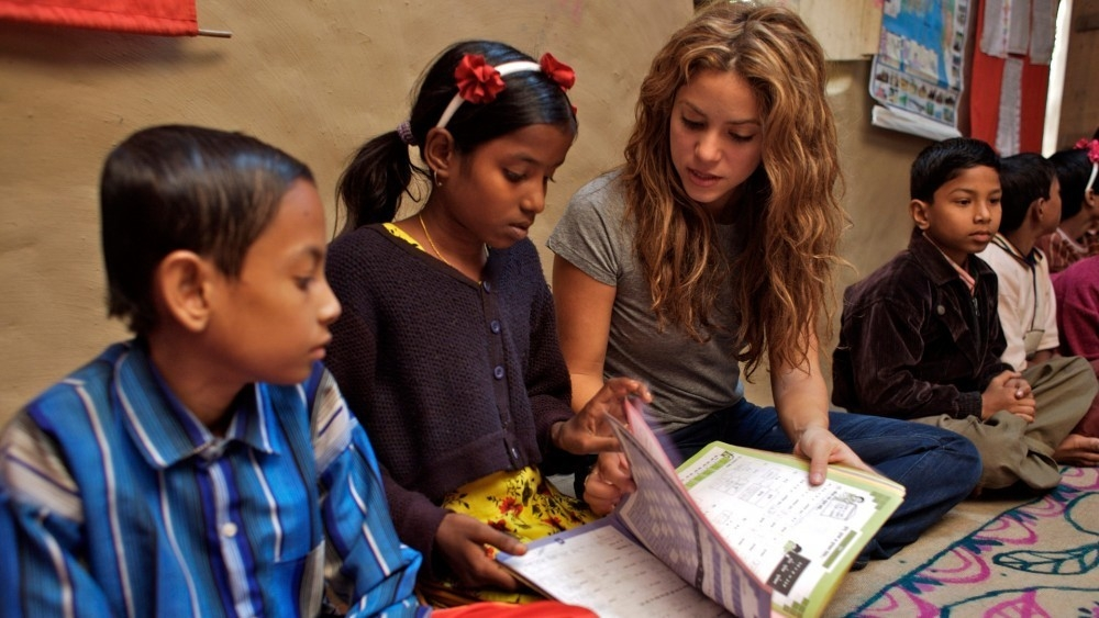 Shakira escuela