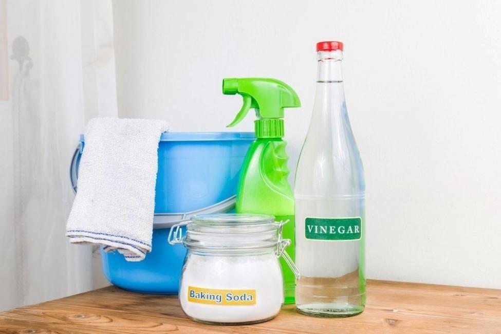vinagre y bicarbonato para el mal olor