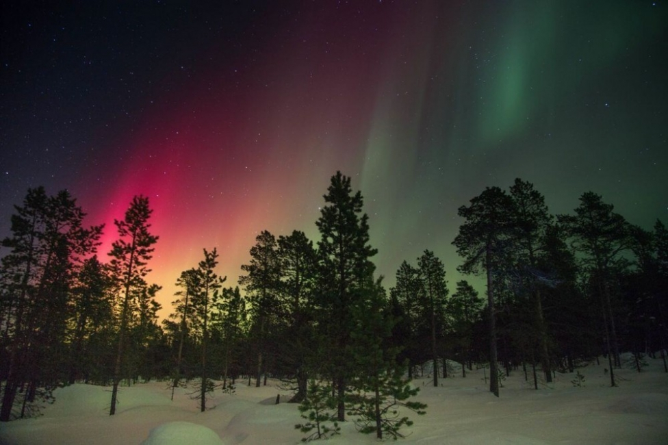 Las aurora boreales son producidas por las tormentas solares