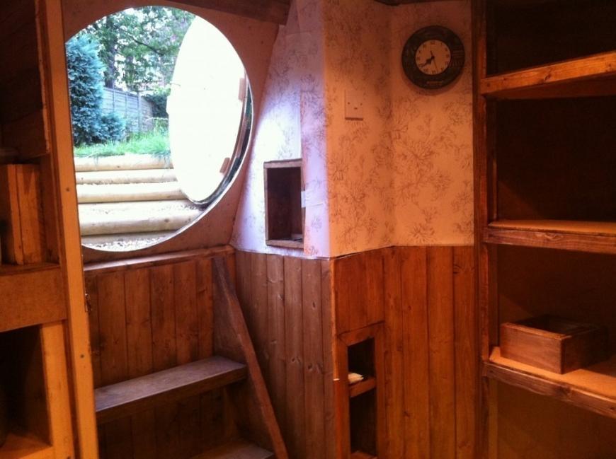 casa hobbit - interiores