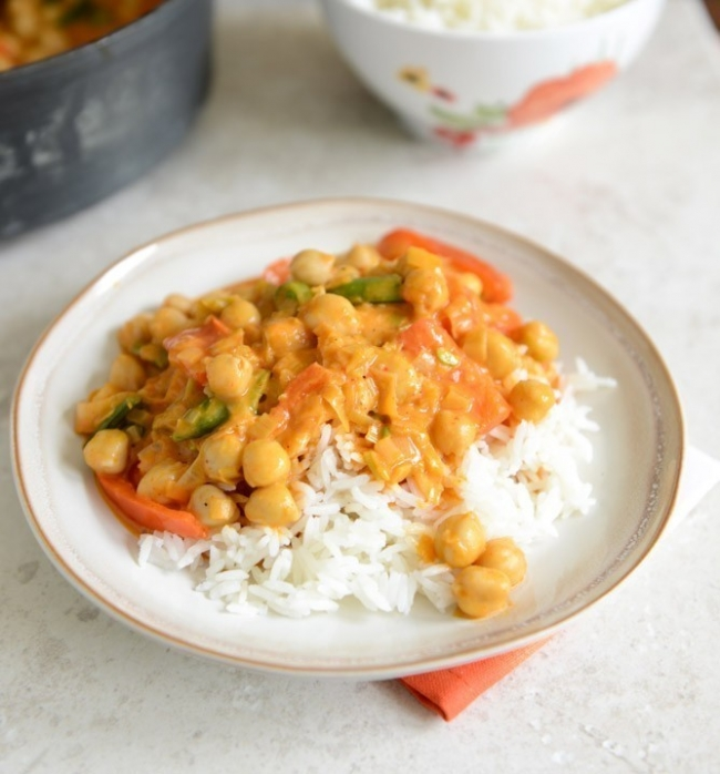 curry tailandes