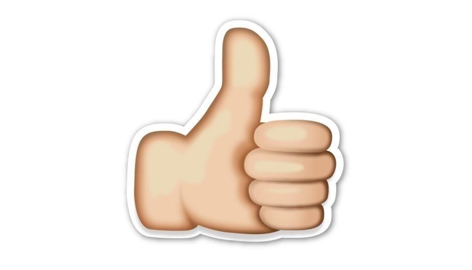 pulgar hacia arriba - emoji