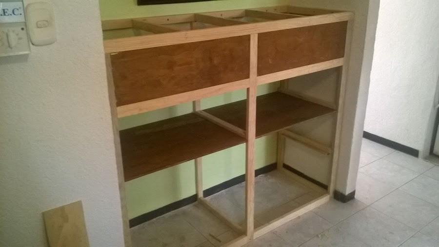 Cómo construir un mueble empotrado- paso a paso