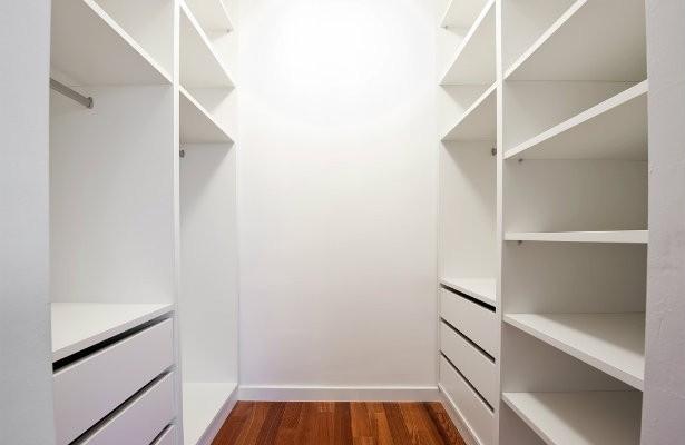 closet vacío
