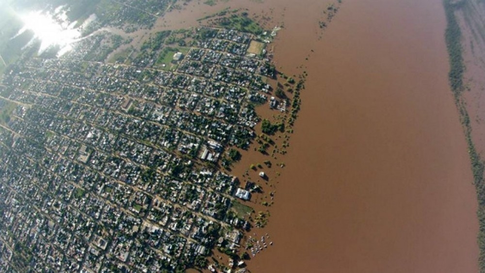 Inundaciones y deforestación - Concordia
