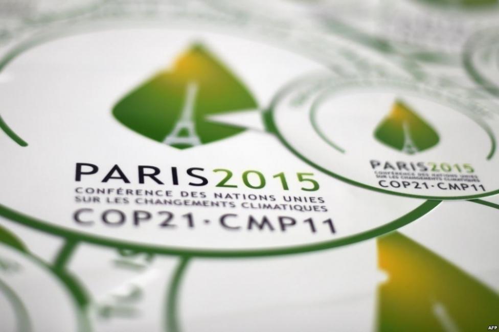 COP21 XXI Conferencia Internacional sobre Cambio Climático logo