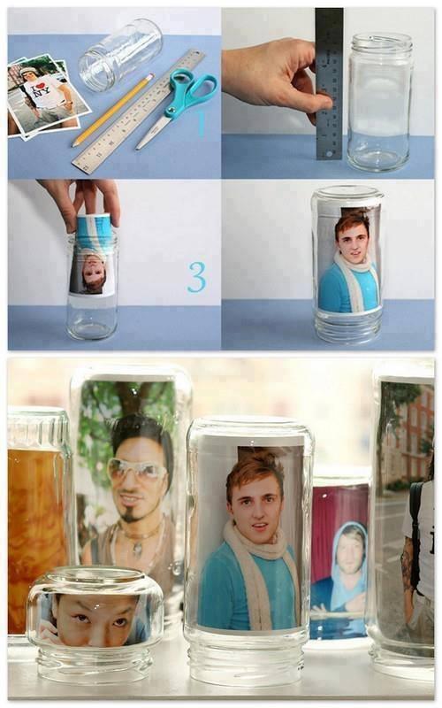 fotos en frasco
