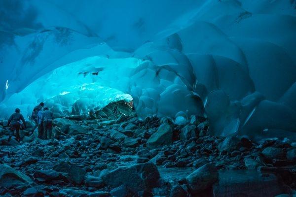 cuevas de hielo mendenhall alaska