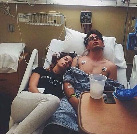 pareja hospital