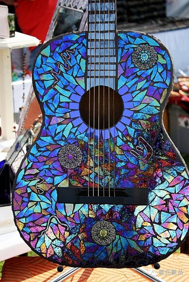 CDs reutilizados - guitarra