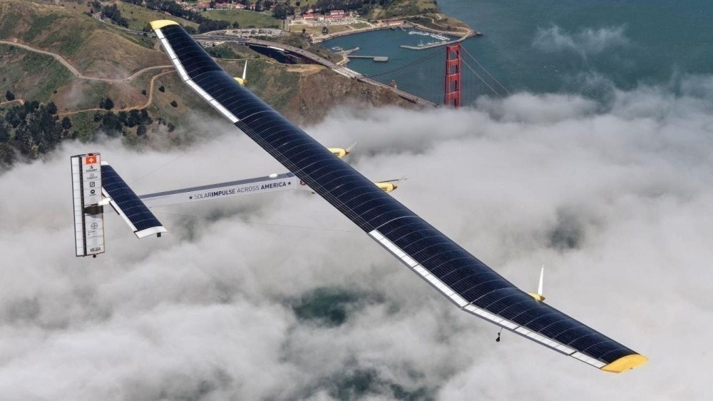 Solar Impulse II- despegue