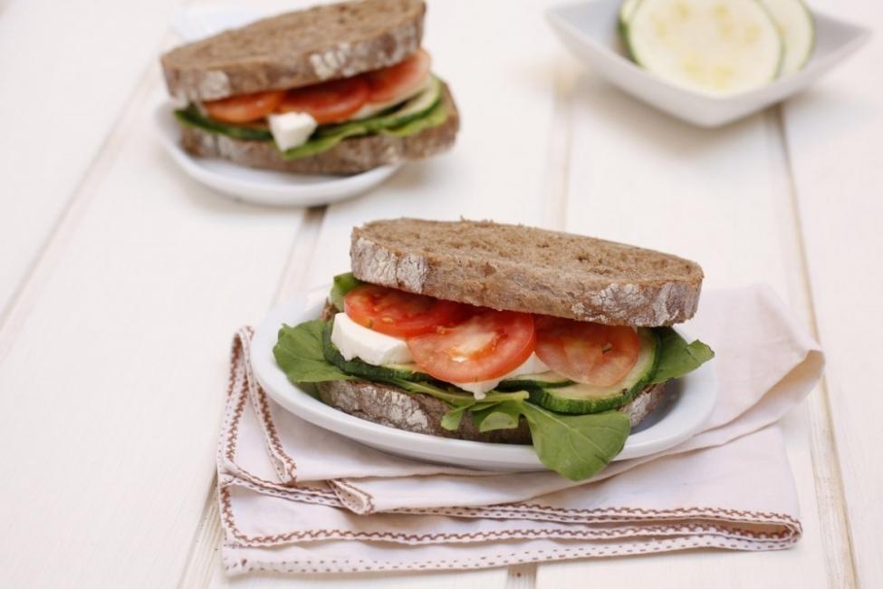 sandwich calabacin