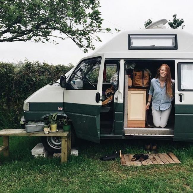 Comenzaron el viaje desde su ciudad natal de Buckinghamshire, Inglaterra.