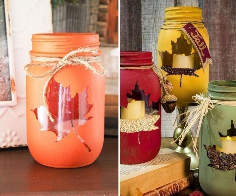 Ideas para decorar tus velas navideñas - velas con envases plásticos reutilizados