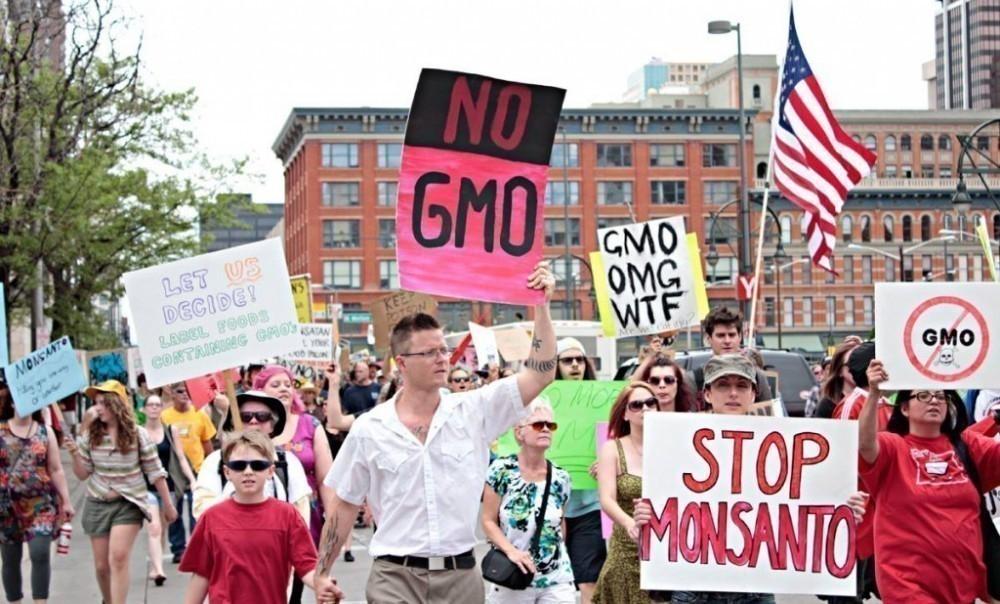Juicio a Monsanto - manifestación estadounidense