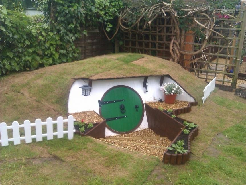 Casa hobbit - terminada