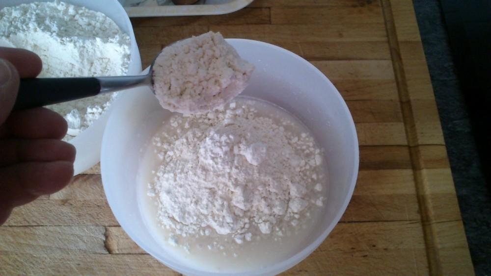 Postre saludable de yogur griego con crema de naranja - paso 3