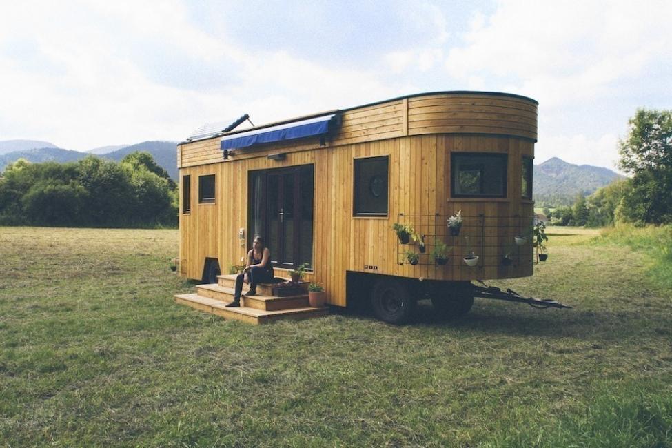 Una encantadora casita en muy pocos metros cuadrados - exterior