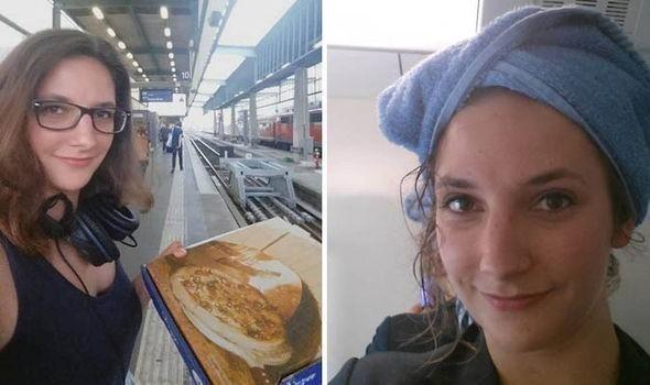 Leonie Muller- vivir en un tren