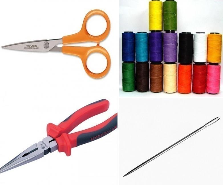 Reparar un cierre - materiales