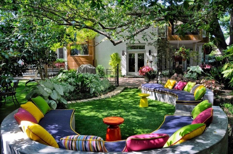 18 ideas para decorar patios y jardines for Ideas de patios y jardines