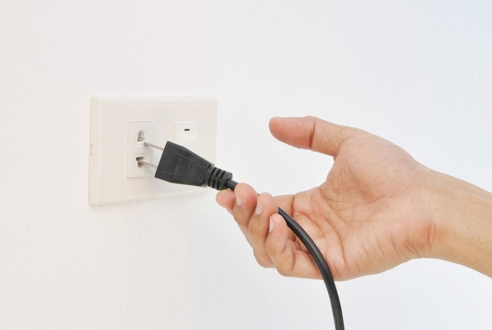 desconectar artefectos para disminuir el consumo de energía