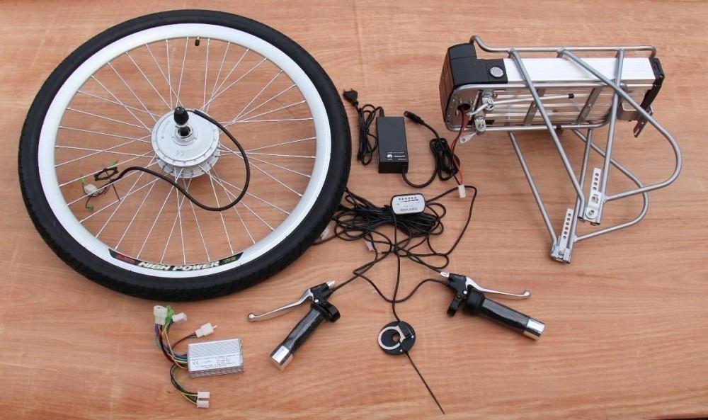 cómo hacer una bicicleta eléctrica - materiales