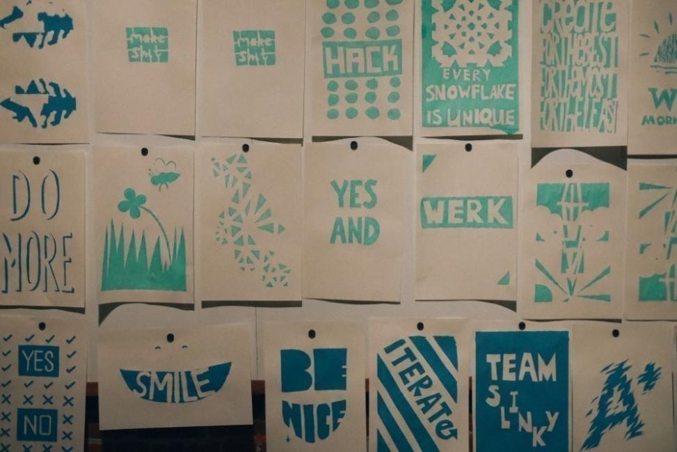 estampar tus propios diseños- posters