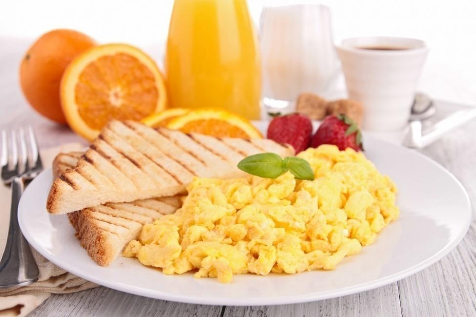 desayuno - proteínas y huevos