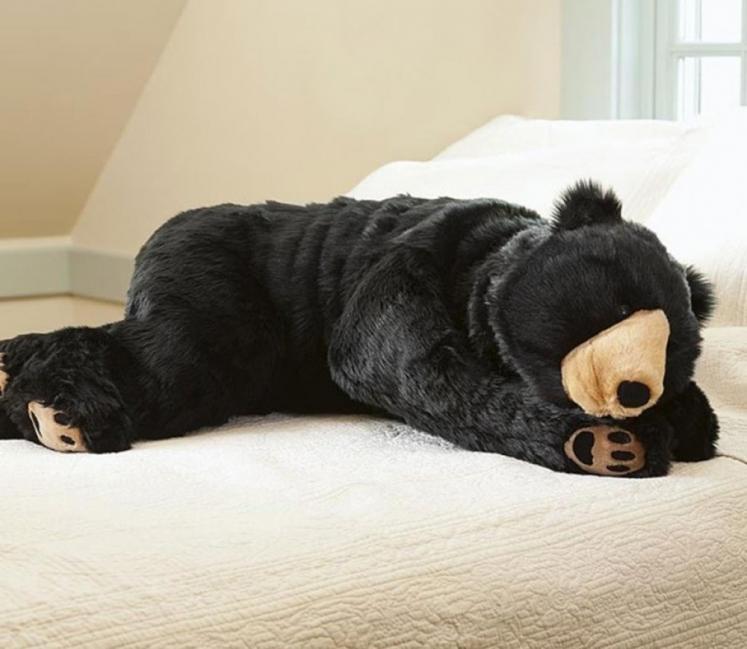 Bolsa de dormir en forma de oso