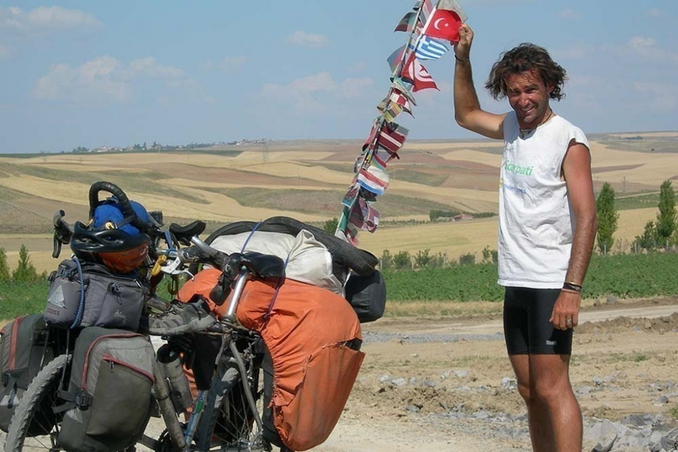 argentino viaje bicicleta- historia